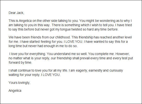 Love Letter Template For Him Waiter Resume Examples For Letters - love letter template for him