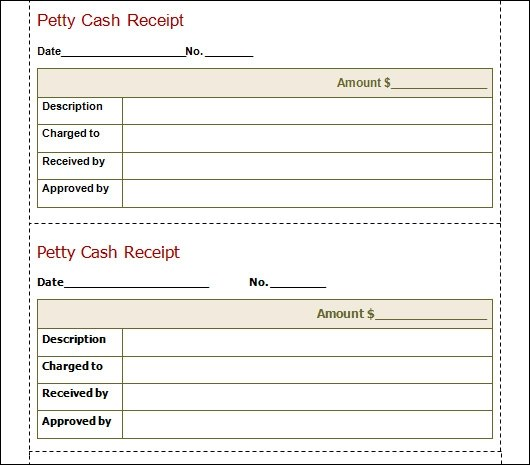 Download Cash Receipt Template Uk | Rabitah.Net