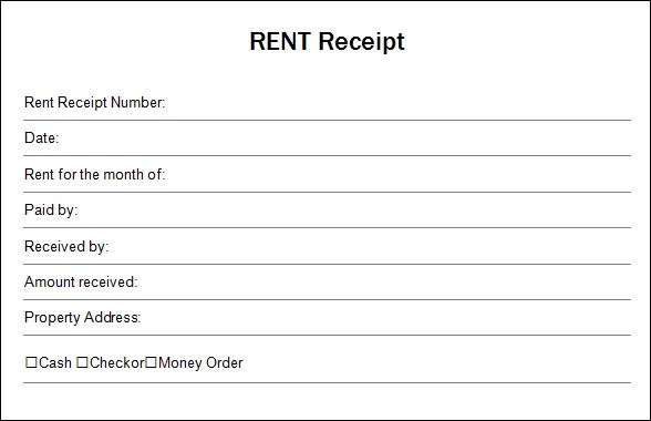 Free Receipt Template. Cv Letter Sample