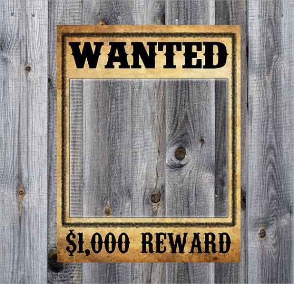 a wanted poster template