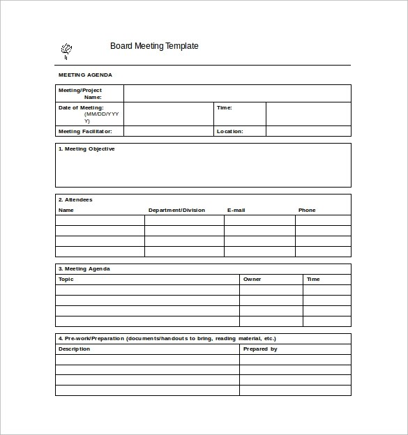 38+ Free Sample Meeting Minutes Templates Sample Templates - Minutes Of Meeting Template Free Download