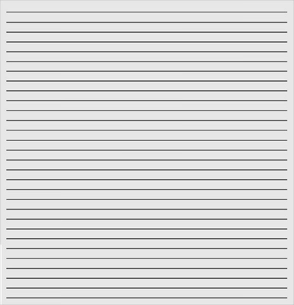 Lined Paper Template Kids – Lined Paper Template Kids