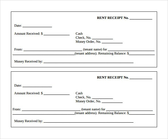 Doc700399 Home Rent Receipt Format SAMPLE House Rent Receipt – Rent Receipt Template Doc