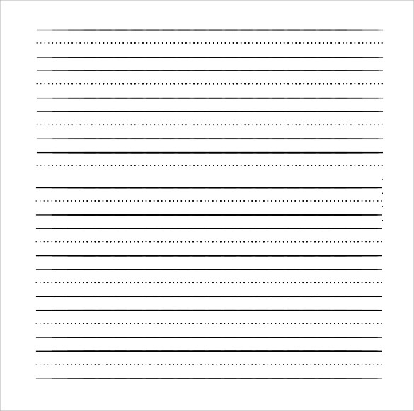 free writing paper printable low vision writing paper 1 2 inch blue - print lined writing paper