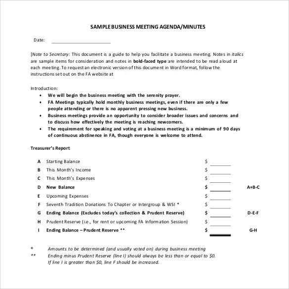 38+ Free Sample Meeting Minutes Templates Sample Templates - sample meeting summary template