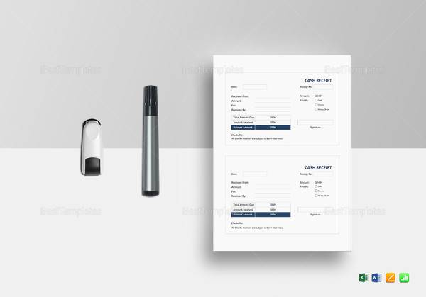 40+ Free Receipt Templates Sample Templates