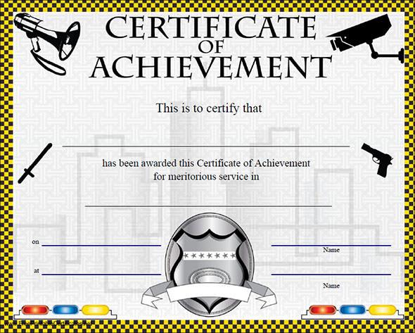 Certificate of Achievement Template - 38+ Download in PSD, PDF