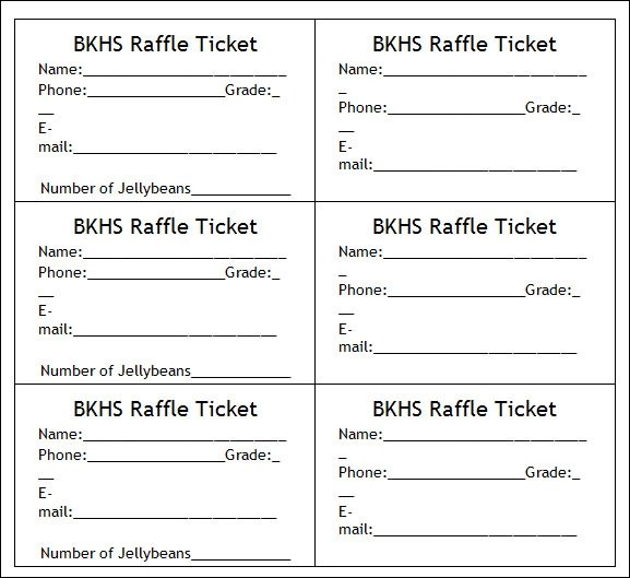 ticket templates word - Boatjeremyeaton - printable ticket templates