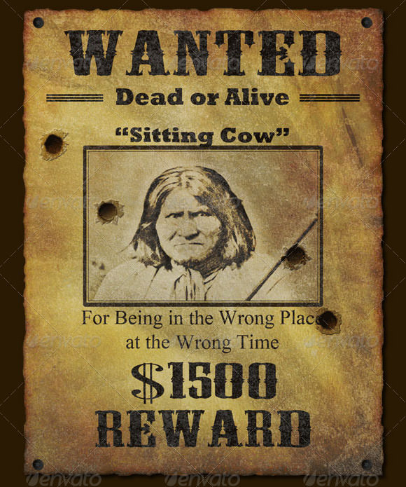 wanted poster sample