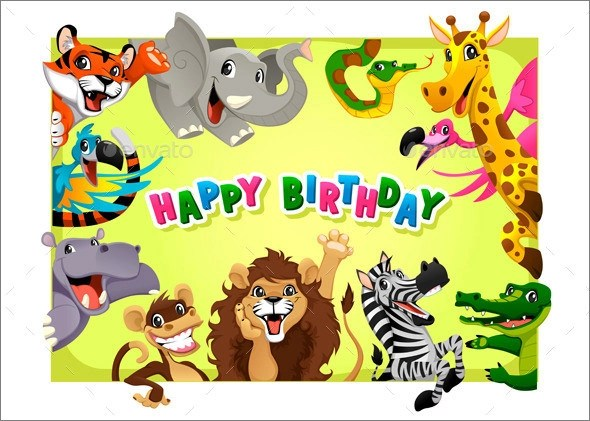 25+ Printable Birthday Card Templates Sample Templates - template for a birthday card