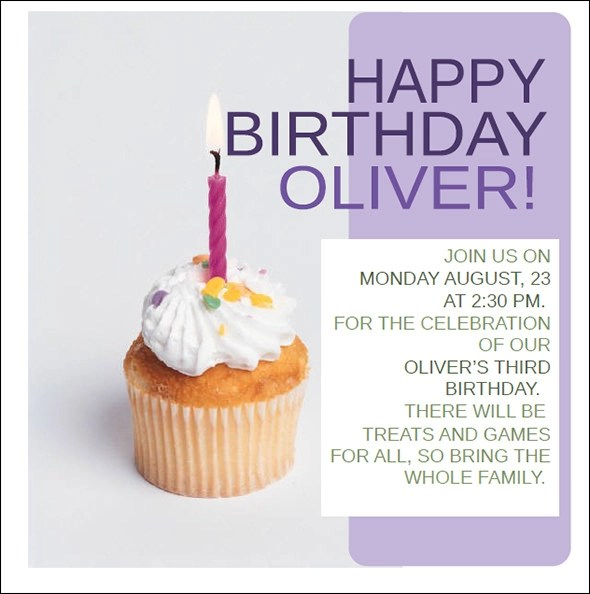 50+ Printable Birthday Invitation Templates Sample Templates - invitation birthday template