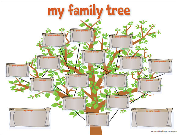 Family Tree Template - 55+ Download Free Documents in PDF, Word, PPT