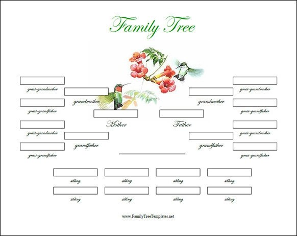 Family Tree Template - 53+ Download Free Documents in PDF, Word, PPT