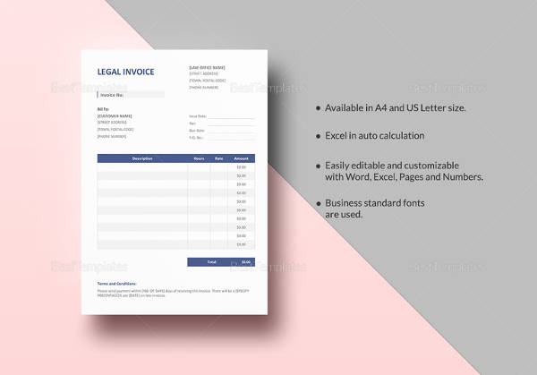 110+ Invoice Template - Download Free Documents in Word, Excel, PDF
