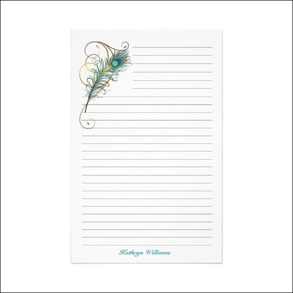 Notebook Paper For Child – Notebook Paper Template for Word