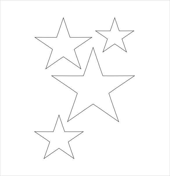 19+ Best Printable Star Templates Sample Templates