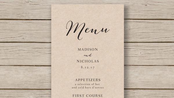 16+ Banquet Menu Templates - Psd, Docs, Pages, Ai