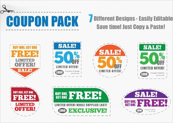 Sample Coupon Template - 43+ Documents in PSD, Vector, Illustration, PDF - coupon layouts
