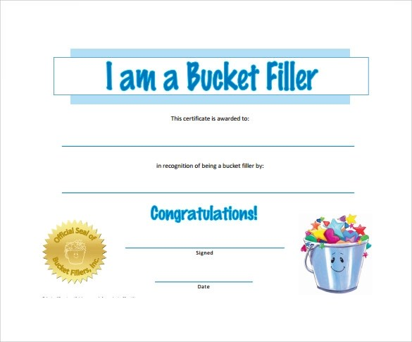 42 Printable Award Certificate Templates to Download Sample Templates - recognition certificate template