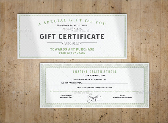 Sample Gift Certificate Template - 64+ Documents Download in PDF