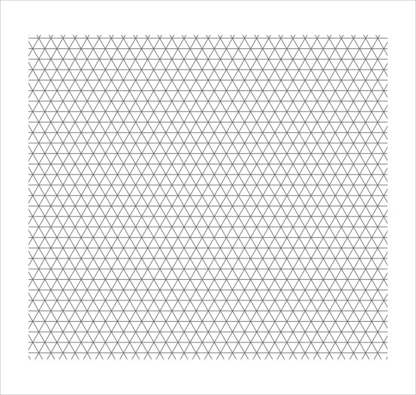 13 Free Printable Isometric Graph Paper for Download Sample Templates