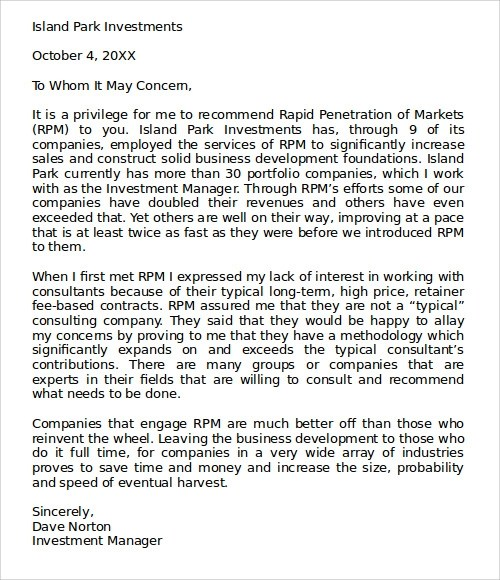 Sample Letter of Recommendation - 23+ Free Documents in Doc - personal letter of recommendation sample