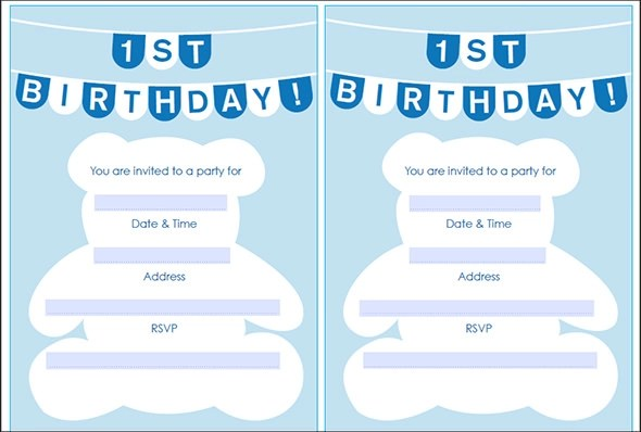 50+ Printable Birthday Invitation Templates Sample Templates - invitation blank template