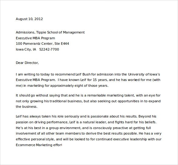 35+ Letters of Recommendation for Student Download for Free Sample - letter of recommendation for college