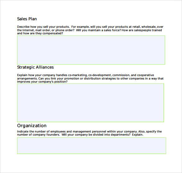 28+ Sales Plan Templates - PDF, RTF, PPT, Word, Excel