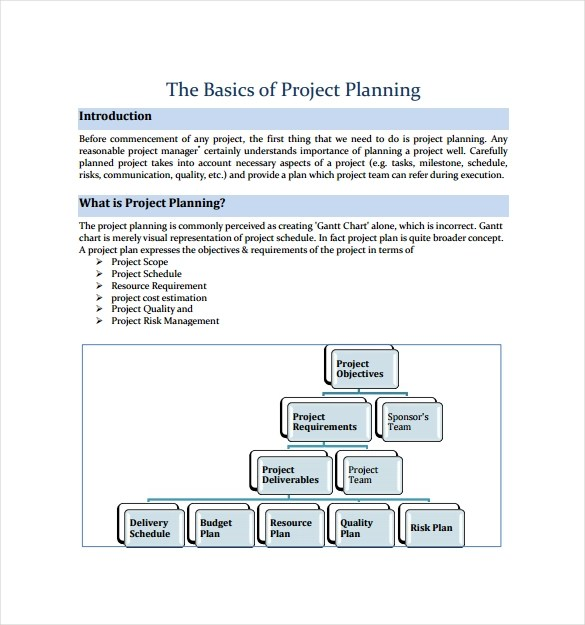 Project Plan Template - 18+ Download Free Documents in PDF, Word, Excel - project plan template
