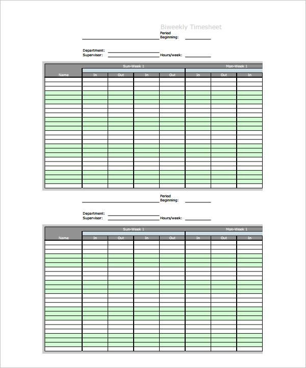 employee chart template