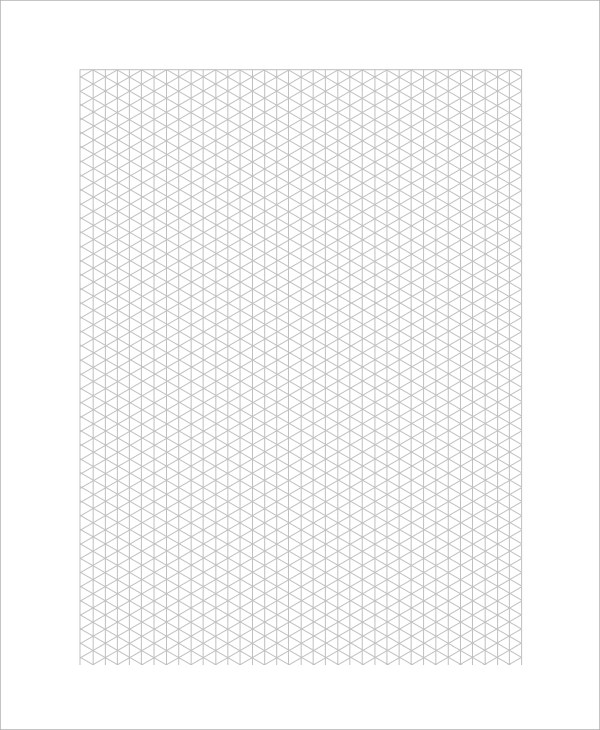 Sample Graph Papers - 6+ Documents in PDF - isometric graph paper