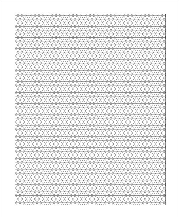 Sample 3D Graph Paper Template - 8+ Free Documents in PDF - grid paper template
