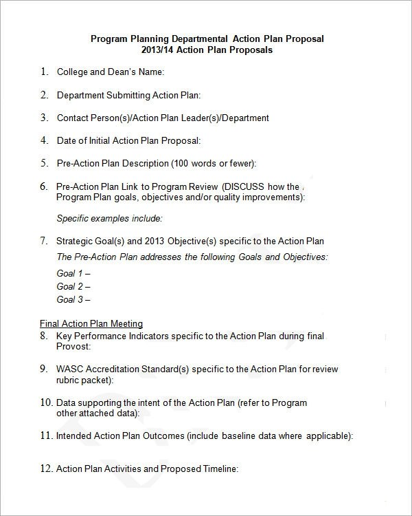 Sample Emergency Action Plan Template  How to solve problems (or at