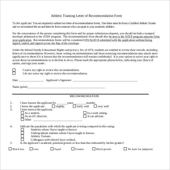 35+ Letters of Recommendation for Student - PDF, DOC