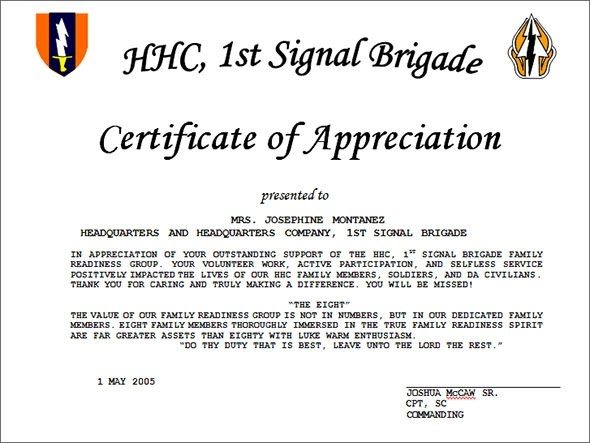 27+ Best Printable Certificate of Appreciation Templates Sample