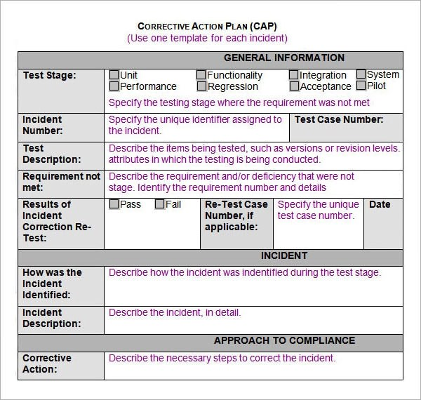 12+ Action Plan Templates Sample Templates - action plan in pdf