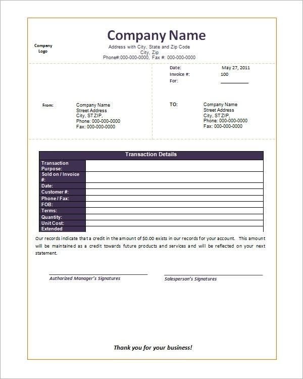 52+ Sample Blank Invoice Templates Sample Templates - invoice template for microsoft word