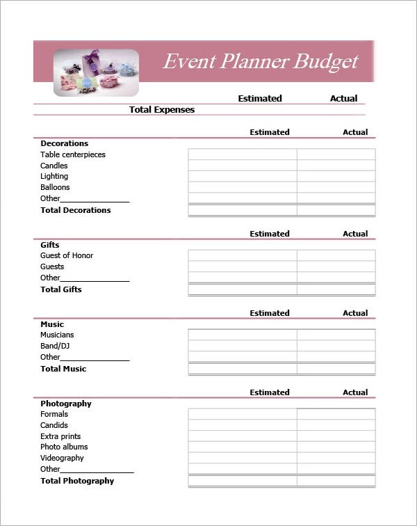free event plan template - Ozilalmanoof - Event Plan Template