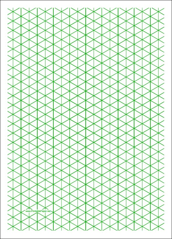 Isometric Graph Paper - 12+ Download Free Documents in PDF - graphing paper printable template