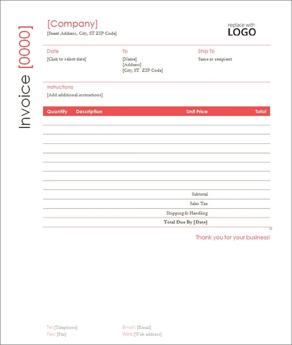 Sample Contractor Invoice Template - 14+ Free Documents in Word, PDF