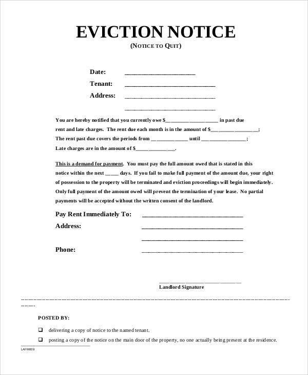 eviction notice sle letters - 28 images - 30 day eviction letter - eviction letter template uk