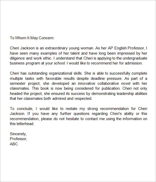 recommendation letter for nursing school sample nursing school application letter sample nursing school letters of recommendation
