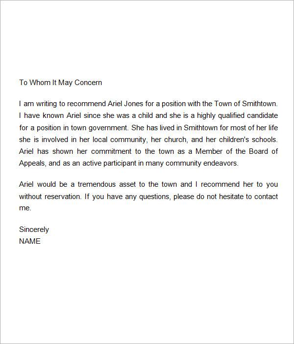 Recommendation Letter For Scholarship Teacher – Sample Recommendation Letter for Scholarship from Teacher