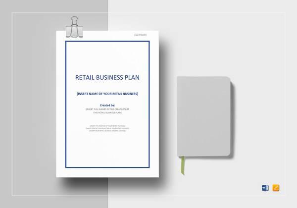 retail business plan template efficiencyexperts - retail business plan template