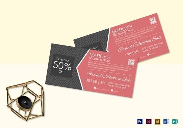 40+ Printable Coupon Design Templates - PSD, AI, Word, Publisher