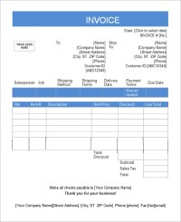 16 Customisable Tax Invoice Templates to Download Free ...