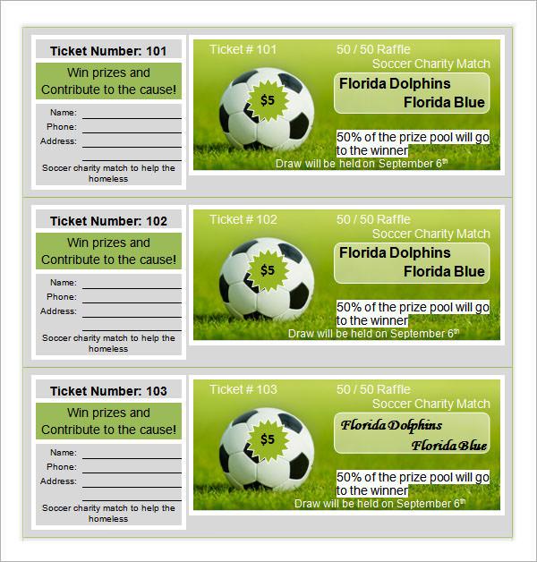 download raffle ticket template