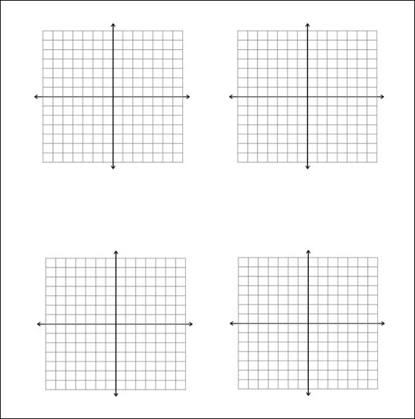 5+ Math Graph Papers - graphing paper printable template