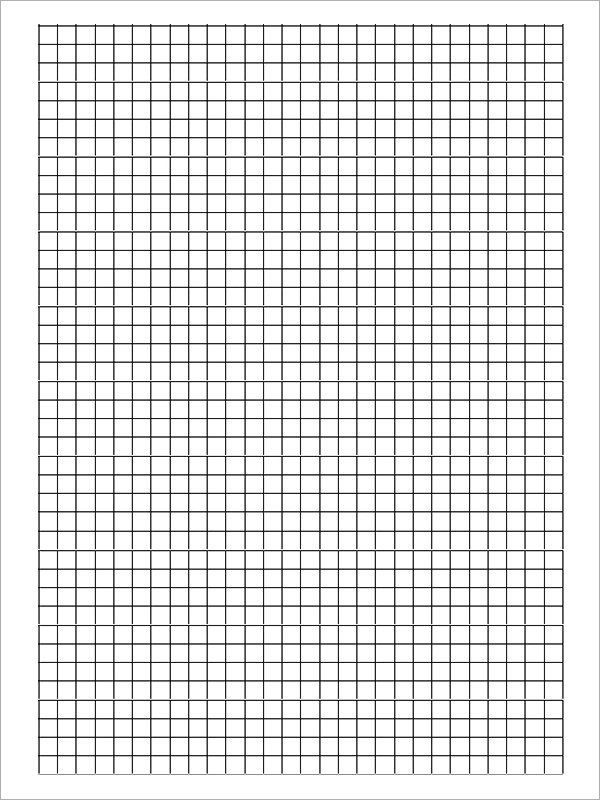 10+ Printable Blank Graph Paper Templates Sample Templates - Graph Paper Template